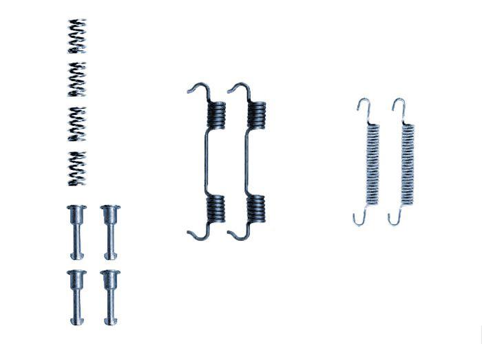 Kit d'accessoires, mâchoire de frein Blue Print ADA1041501