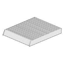 Mecafilter EKR7017 Filtre dhabitacle
