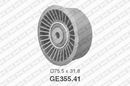 Polea inversión/guía, correa distribución SNR GE355.41