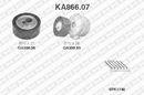 Kit de courroie d'accessoire SNR KA866.07