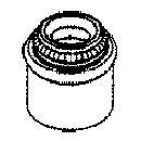 Anillo de junta, vástago de válvula AJUSA 12010200