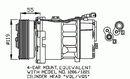 Compresor, aire acondicionado NRF B.V. 32064