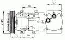 Compresor, aire acondicionado NRF B.V. 32084