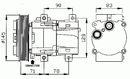 Compresor, aire acondicionado NRF B.V. 32085