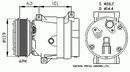 Compresseur, climatisation NRF B.V. 32102