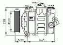 Compresor, aire acondicionado NRF B.V. 32146