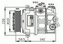 Compresor, aire acondicionado NRF B.V. 32147