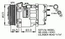 Compresseur, climatisation NRF B.V. 32198