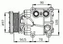 Compresor, aire acondicionado NRF B.V. 32199