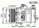 Compresor, aire acondicionado NRF B.V. 32232