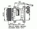 Compresseur, climatisation NRF B.V. 32244