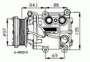 Compresor, aire acondicionado NRF B.V. 32247