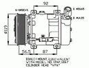 Compresseur, climatisation NRF B.V. 32270