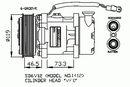 Compresseur, climatisation NRF B.V. 32275
