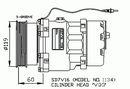 Compresseur, climatisation NRF B.V. 32277