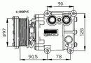 Compresor, aire acondicionado NRF B.V. 32402