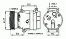 Compresseur, climatisation NRF B.V. 32404