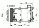 Compresor, aire acondicionado NRF B.V. 32410