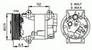 Compresseur, climatisation NRF B.V. 32424