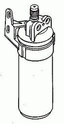 Filtre déshydrateur du circuit de climatisation NRF B.V. 33086