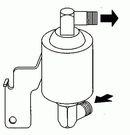 Filtre déshydrateur du circuit de climatisation NRF B.V. 33146