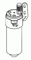 Filtre déshydrateur du circuit de climatisation NRF B.V. 33200