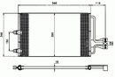Condenseur, climatisation NRF B.V. 35149