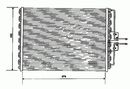 Condenseur, climatisation NRF B.V. 35162