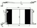 Condenseur, climatisation NRF B.V. 35304