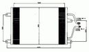 Condenseur, climatisation NRF B.V. 35312