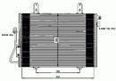Condenseur, climatisation NRF B.V. 35353