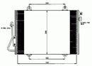 Condenseur, climatisation NRF B.V. 35379