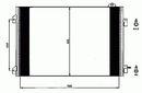 Condenseur, climatisation NRF B.V. 35545