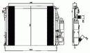 Condenseur, climatisation NRF B.V. 35547
