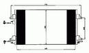 Condenseur, climatisation NRF B.V. 35760