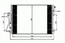 Condenseur, climatisation NRF B.V. 35771