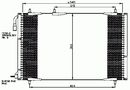 Condenseur, climatisation NRF B.V. 35836