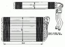 Evaporador, aire acondicionado NRF B.V. 36060