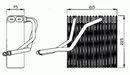 Evaporador, aire acondicionado NRF B.V. 36069