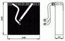 Evaporador, aire acondicionado NRF B.V. 36109