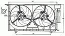 Ventilador, refrigeración del motor NRF B.V. 47075
