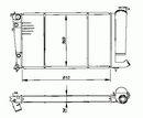 Radiateur moteur NRF B.V. 54716