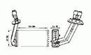 Intercambiador térmico, calefacción habitáculo NRF B.V. 58062