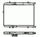 Radiador, refrigeración del motor NRF B.V. 58311