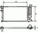 Radiateur du moteur NRF B.V. 58961