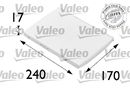 Filtre d'habitacle VALEO 698689