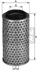 Filtro de aire MANN-FILTER C 1387