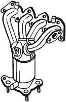 Catalizador BOSAL 090-150