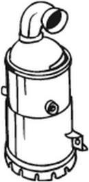 Catalizador BOSAL 090-492