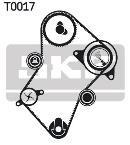 Bomba de agua + kit correa distribución SKF VKMC 03241-2